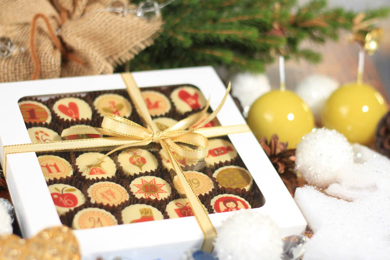 Praline With Filling - 363g Advent Calendar