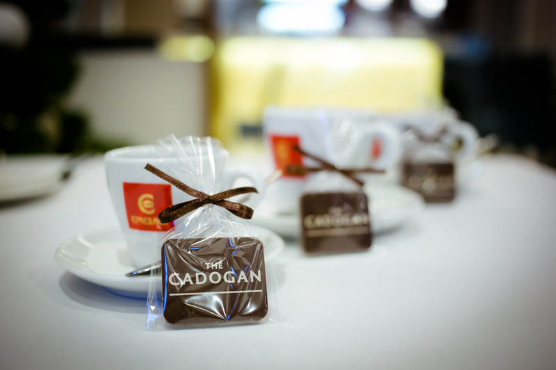 Promotional Chocolate Bar in a Polybag with Ribbon, 7g