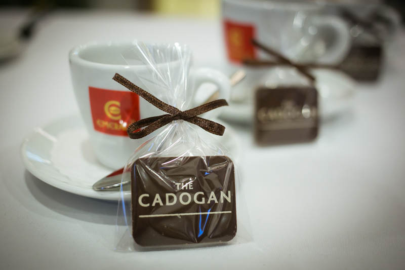 Printing On Chocolate - Promotional Chocolate Bar in a Polybag with Ribbon, 7g