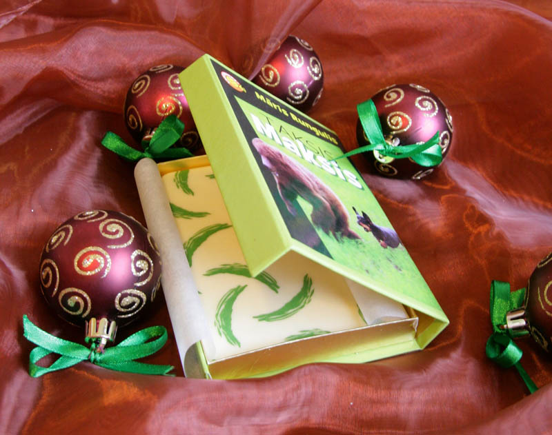 Gift Boxes - Promotional Chocolate Bar in a box with magnet, 80g