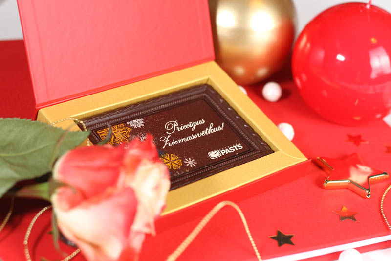 Magnetic Closure Gift Box - Framed Chocolate Picture in a box with magnet, 90g