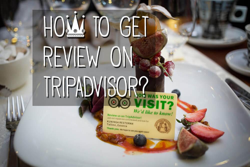 Креативный способ побудить посетителей оставить отзыв на Трип Адвайзере
